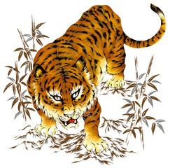 日本的な虎
