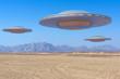 canvas print picture - ufo