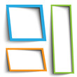 text box vector design
