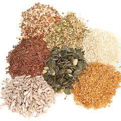 Fresh dried seeds used in cooking