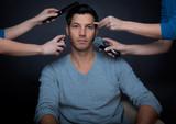 Fototapety make-up man