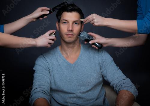 make-up man