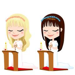 First Communion Prayer Girls