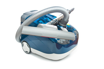 Washing vacuum cleaner isolated on white background