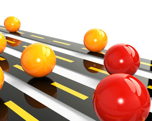 Concept challenge et autoroute