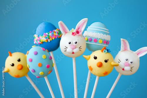Easter cake pops - 49199935