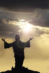 jesus arms raised 2