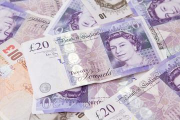 English Pound Notes