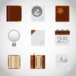 books vector icons
