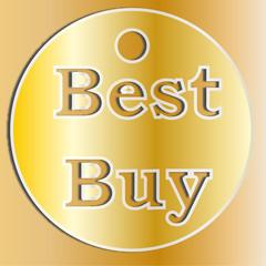 Medaglia Best Buy dorata