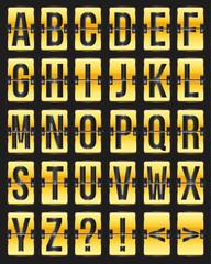 golden with black scoreboard