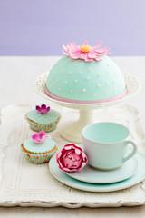 Kuchen und Cupcakes