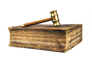 old book of law