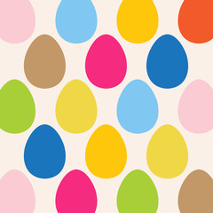 Easter Egg Colorful pattern