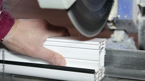 Window Profile Cutting Machine