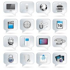 Sprechblasen Icons