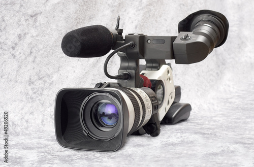 Professional video camera