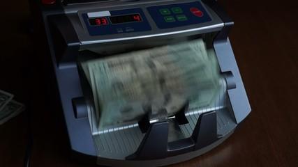 Account cash machine - accounting money