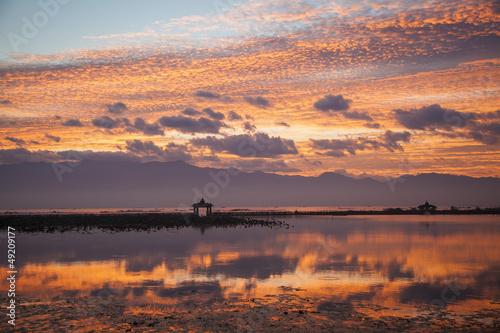 Myanmar, Inle Lake, sunrise