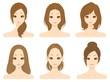美容 女性 複数