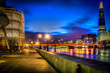 A HDR Walk by the Thames by night