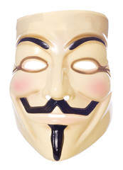 Guy fawkes mask cutout