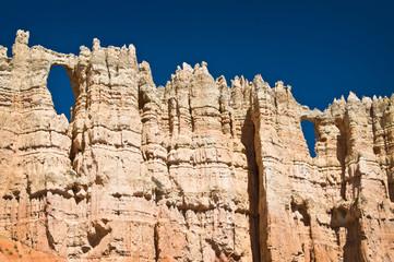 Wall of windows à Bryce Canyon National park - Utah, USA