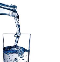 Wasser einschenken