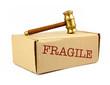 fragile auction box
