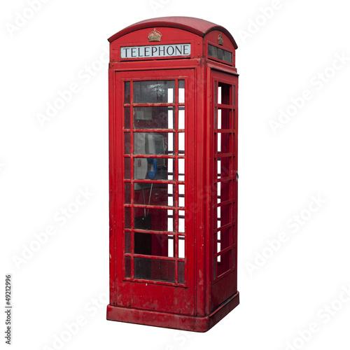Papiers peints Londres Red phone box
