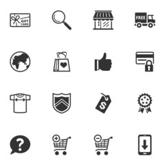 Shopping and E-commerce Icons - Set 2