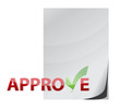 approve paper document check mark concept