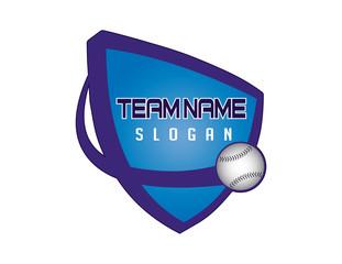 baseball shield logo