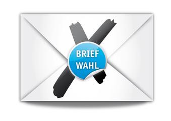 Briefwahl, Wahlen, Bundestagswahl, Brief, concept