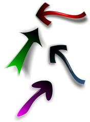 Color arrow set