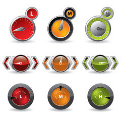 Cool new download speedometers