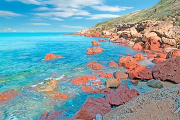 Castelsardo coastline