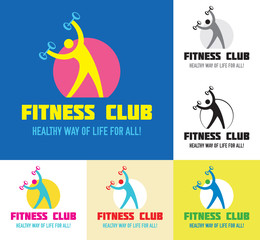 Fitness Club Sport Logo