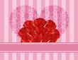 RosesHeartGreetingCardV