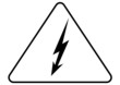 Attention electric sign