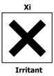 Hazard symbol irritant