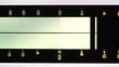 Digital equalizer. Horizontal composition.