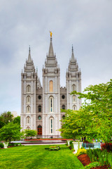 Mormons' Temple in Salt Lake City, UT