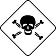 Warning symbol toxic