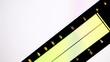 Digital equalizer in film editing soft.