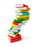 Fototapety Books in pile