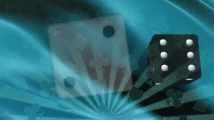 Gambling Dice and Card Suits Loop