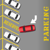 Reserved Parking business success car