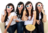 laughing at comedy movie in 3d