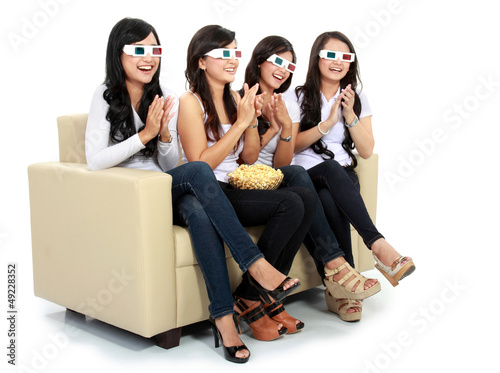 applause at the movie in 3d
